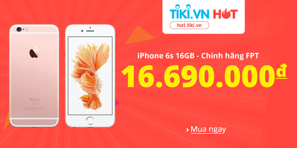 Iphone 6s chính hãng FPT giá rẻ nhất thị trường