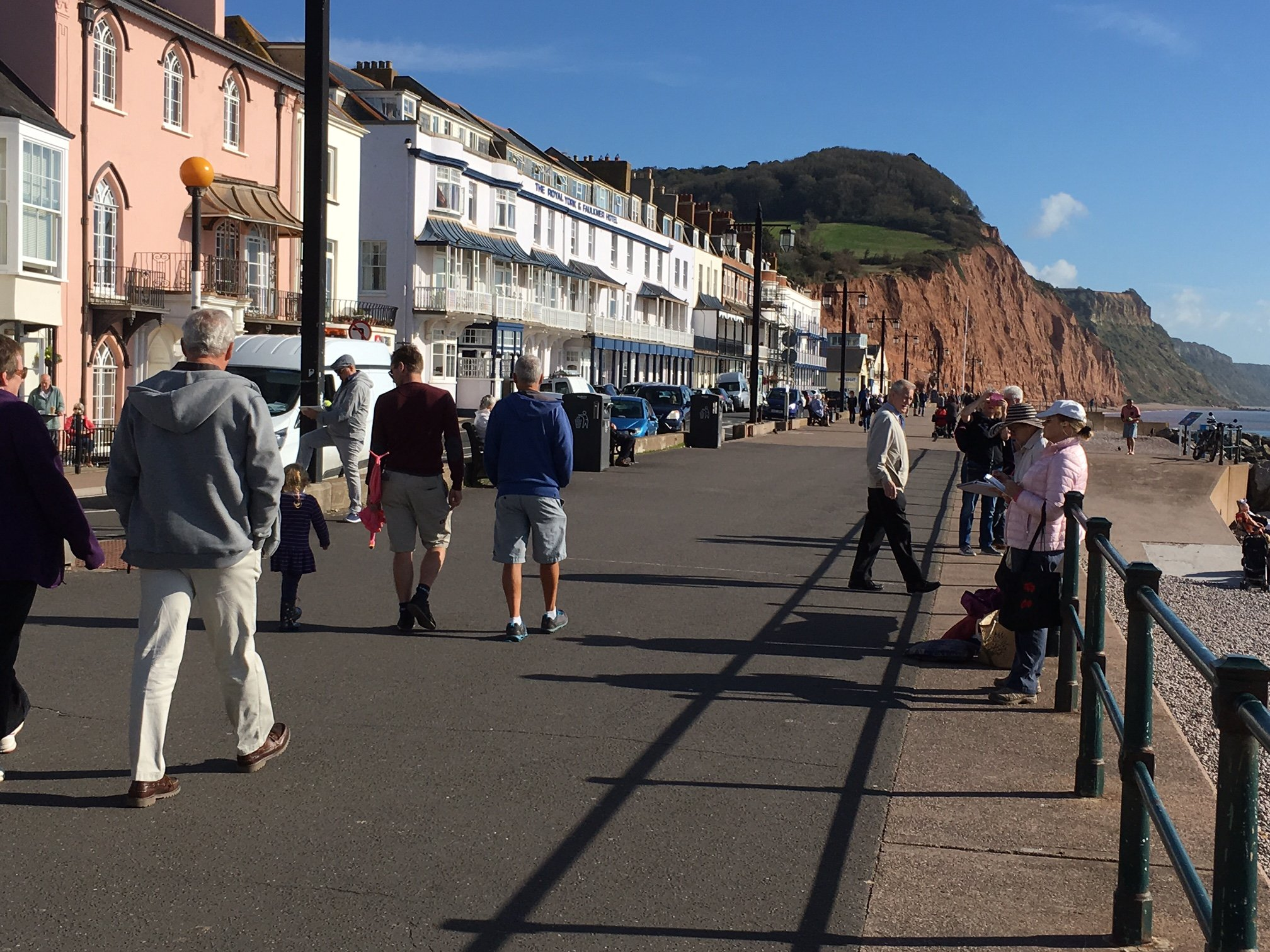 Sidmouth, East Devon, Uk - Plein Air Painting with Francesco Fontana