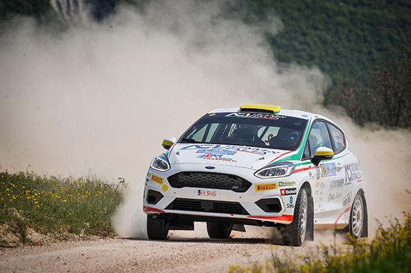 Mattia Vita & Massimiliano Bosi, Ford Fiesta R2B, Rallye Sanremo 2019