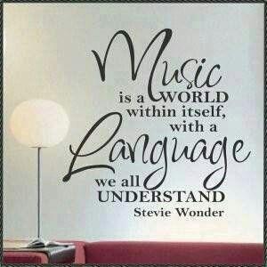 Muziekquote Stevie Wonder