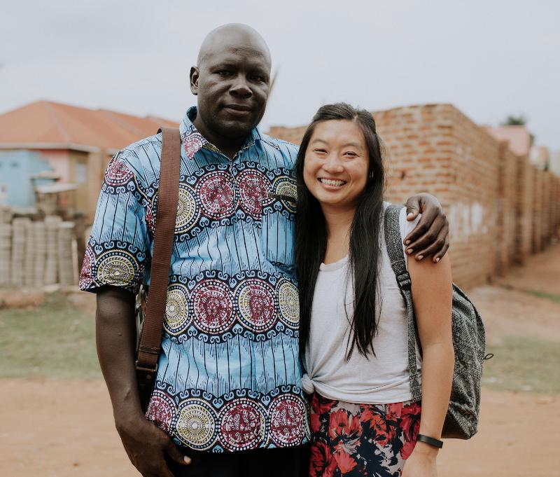Daniel Mawanda & Michelle Jue