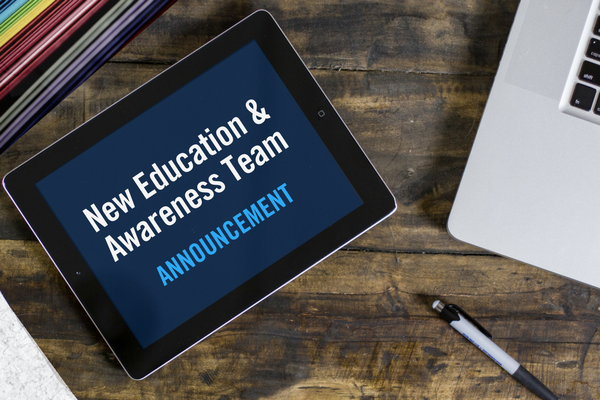 New ITS Education and Awareness Team