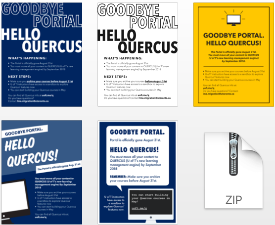 Image of Downloadable Quercus Posters