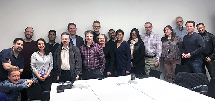 Photo of ROSI change advisory board
