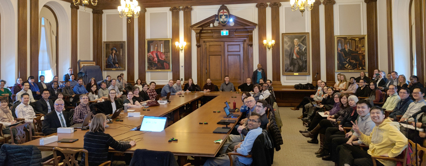 Photo of U of T Ontario Public Sector Data User Group