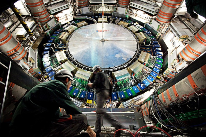 CERN, the international lab near Geneva, is home to the Large Hadron Collider, the world's largest particle accelerator (photo by Claudia Marcelloni/CERN)