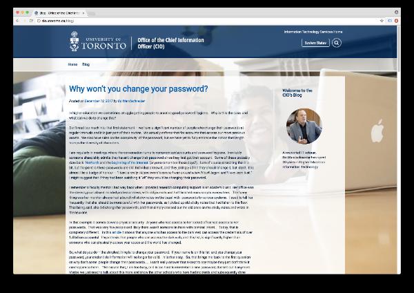 CIO's Blog