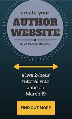 Create Your Author Website in 24 Hours or Less