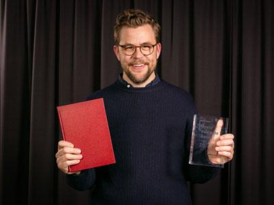 Årets vakreste bok 2017: Gull til Martin Lundell