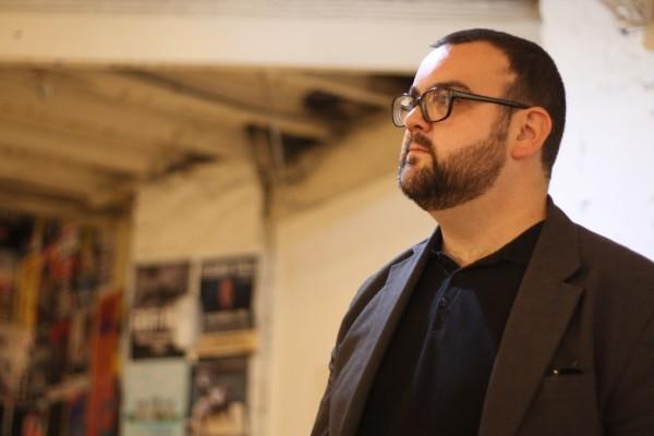 Derek Banner in rehearsals
