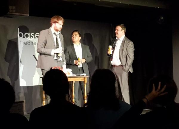 Simon Devon, Scott Canevy and Derek Banner