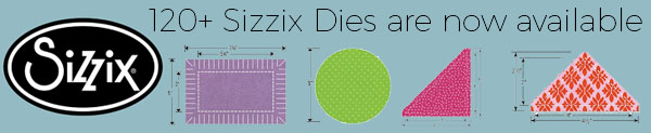 120+ Sizzix Fabric Cutting Dies Are Now Available