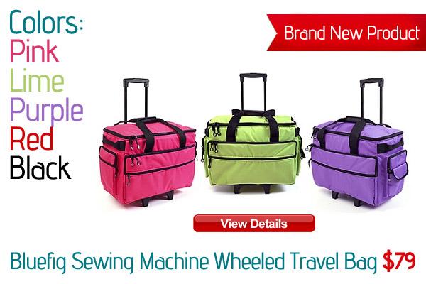 Bluefig Sewing Machine Wheeled Travel Bag
