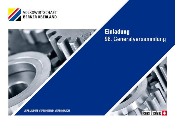 Generalversammlung der Volkswirtschaft Berner Oberand