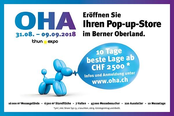 OHA in der Thun Expo