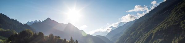 Blickpunkt Berner Oberland im August 2017