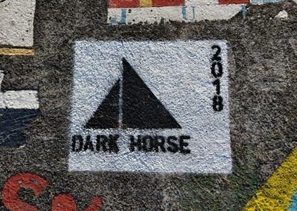Dark Horse mural, Horta