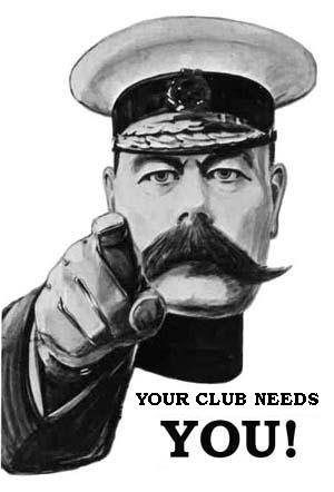 Your club needs you!