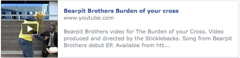 Bearpit Brothers, Burden of your cross video