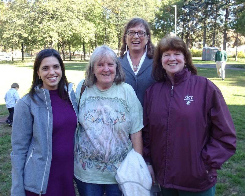 Csandice, Martha, Jessica, and Maggi