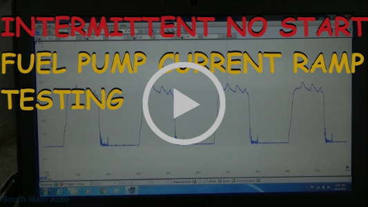 Intermittent No Start - Fuel Pump Current Ramping