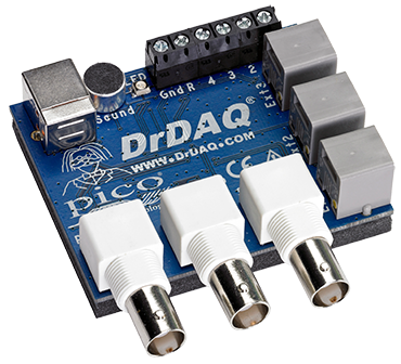 DrDAQ multipurpose data logger.