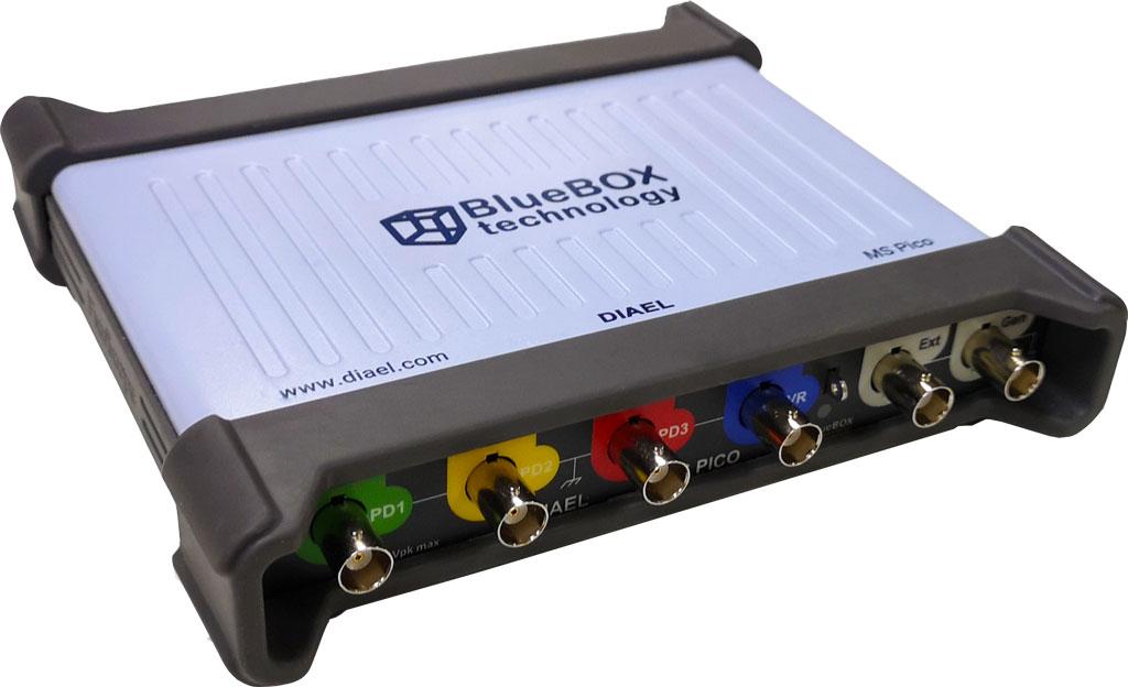 MS Pico uses the PicoScope 5442D oscilloscope.