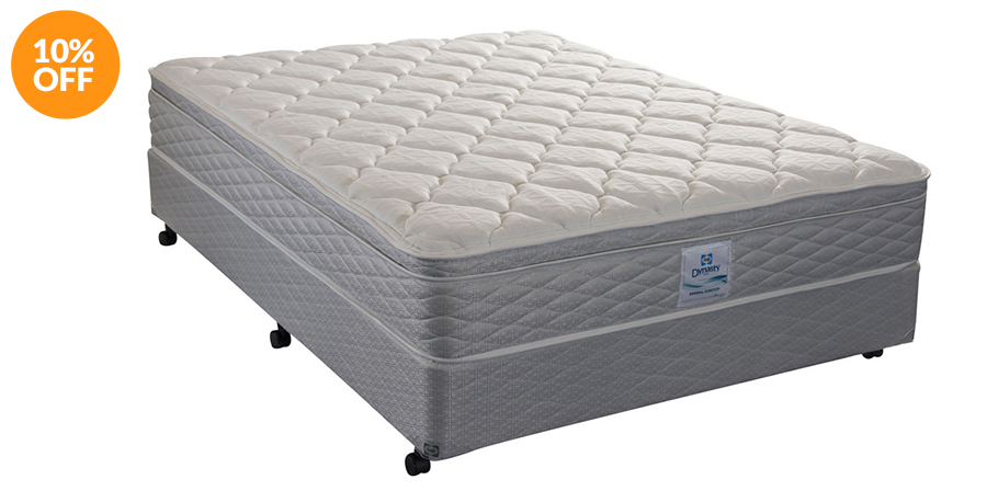 Posturepedic Dynasty Series Imperial Euro Top (Plush) Bed by Sealy Commercial