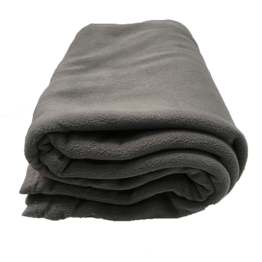 Commercial Charcoal Polar Fleece