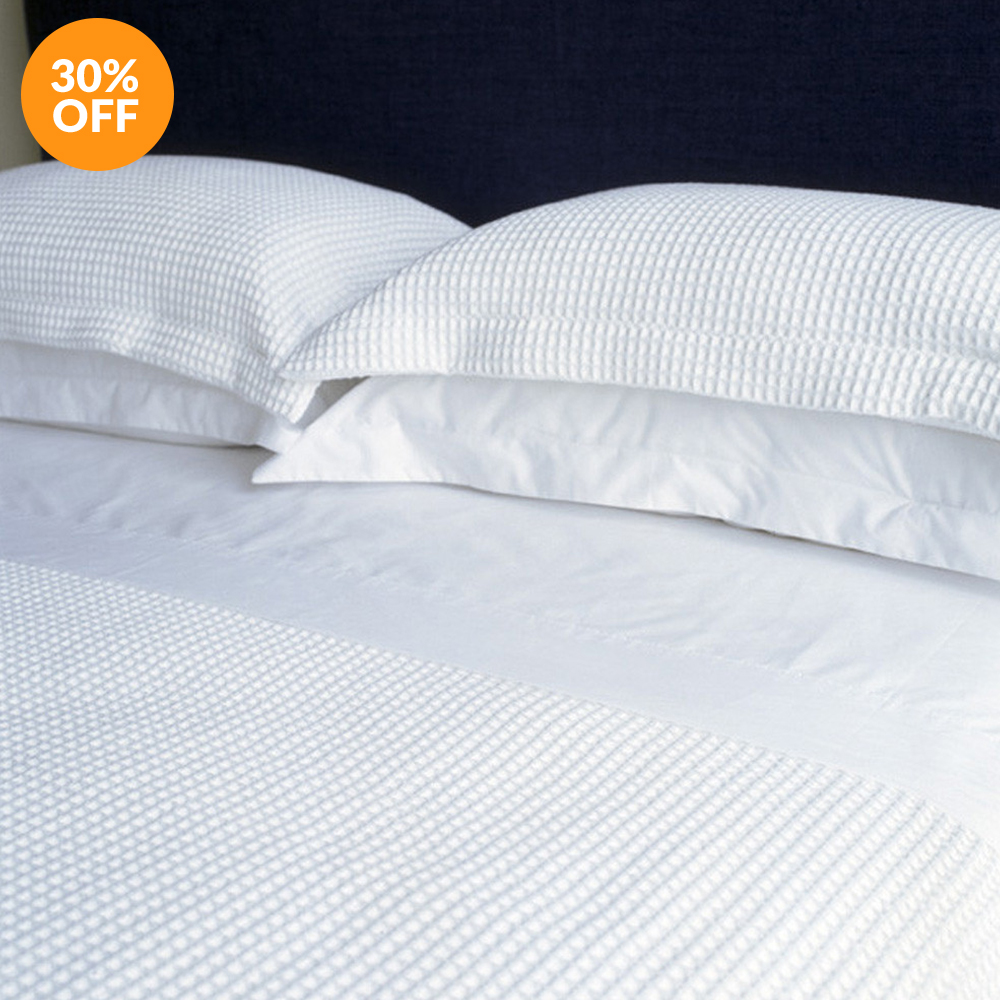 Premium Waffle Duvet Cover by Bellini