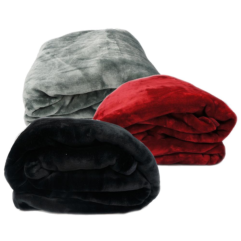 Queen Faux Mink Blankets