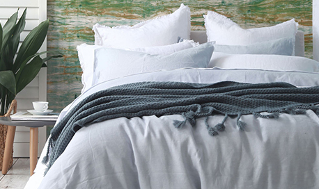 MM Laundered Linen Duvet