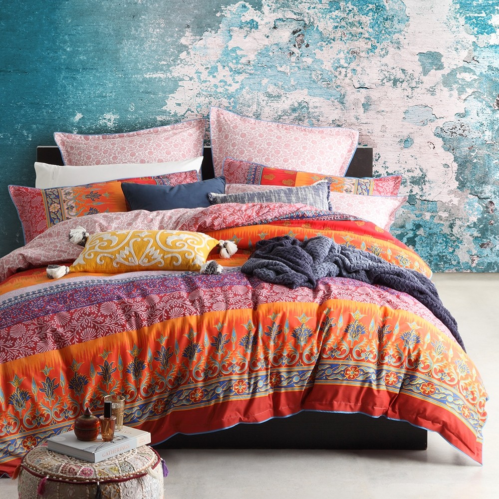 India Spice Duvet Cover