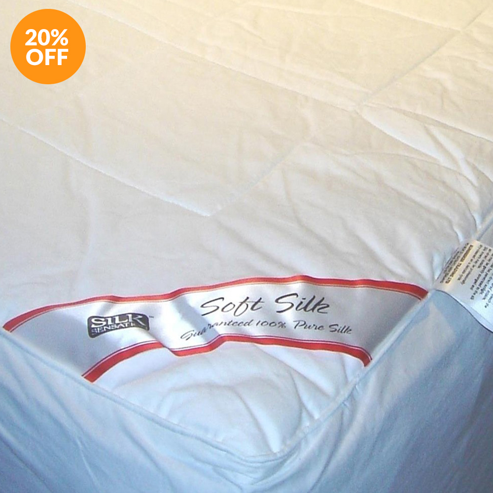 Silk Filled Mattress Underlay by Silk Sensation