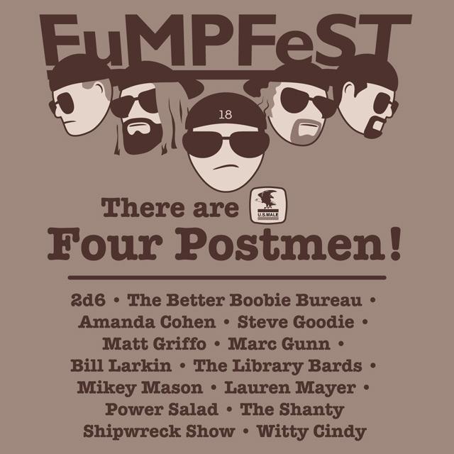 FuMPFest 2018 t-shirt design