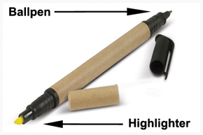 Eco-friendly Highlighter pen