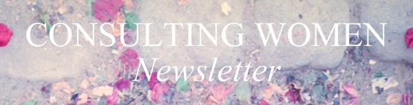 CONSULTING WOMEN Newsletter
