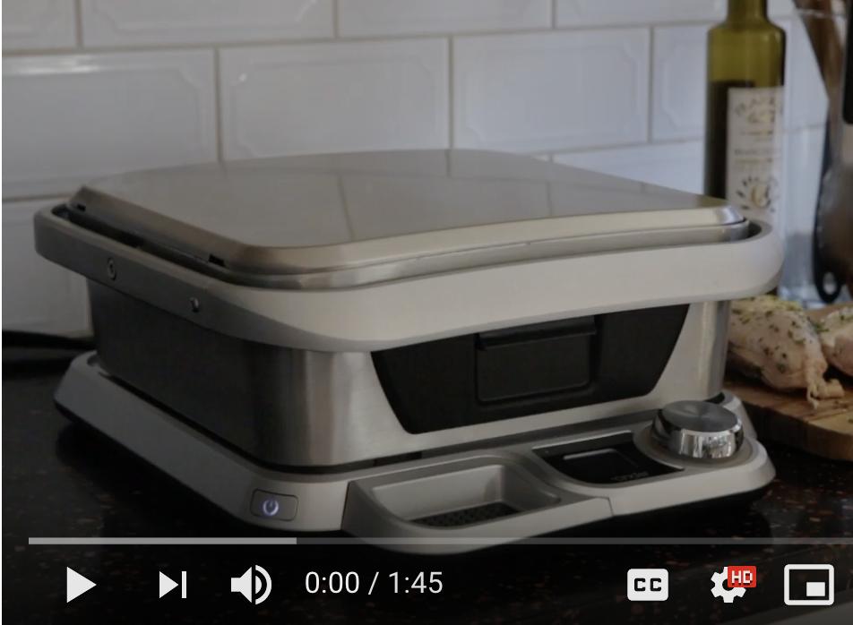 Cinder Grill Setup Video