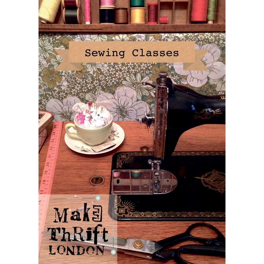 Make Thrift London sewing workshops