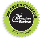 UNH Named to Princeton Review's Guide to Green Colleges