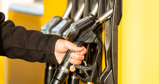 Tankstellen-Zapfsäulen
