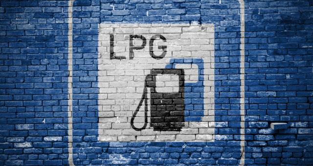 LPG-Schild