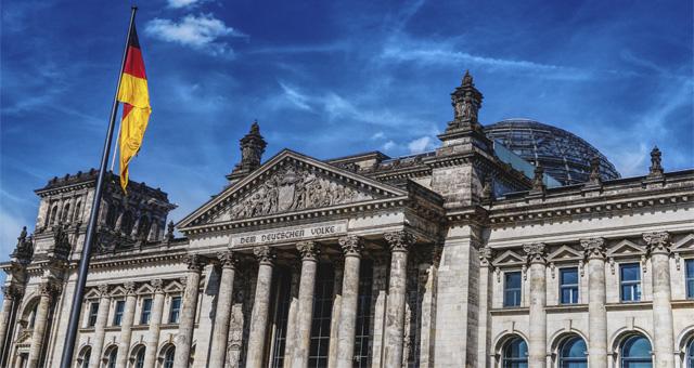 Bundestagsgebäude von Deutschland