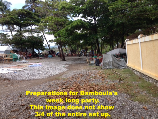 Bamboula's Beach Party