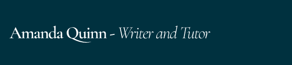 Amanda Quinn - Writer and Tutor