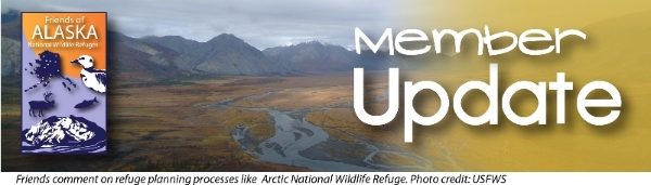 Friends of Alaska National Wildlife Refuge Monthly Membership Meeting