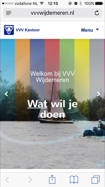 Nieuwe website VVV Gooi & Vecht