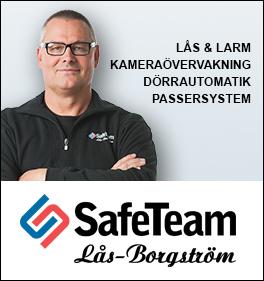 SafeTeam Lås-Borgström