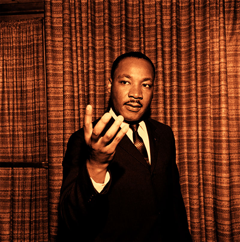 Rare photo of Martin Luther King, Jr