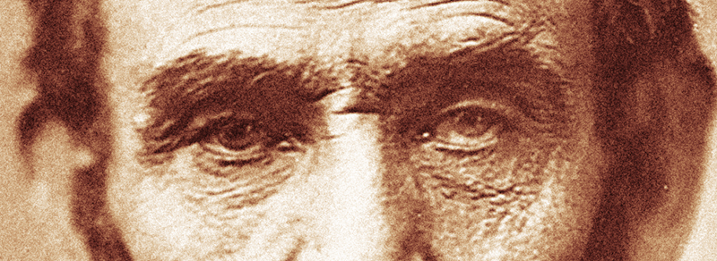 Eyes of President Lincoln